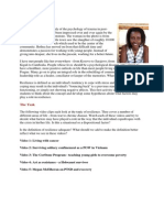 Defining Resilience - IB Psychology High Level - Options - Developmental Psychology