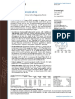 J.P. Morgan reiterates OREX with Overweight and $12 price target - May 8