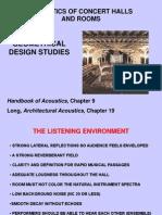 7 Geometrical Design Studies