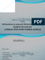 Penanggulangan Pencemaran Air Limbah