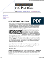 GURPS Tékumel_ Magic Items
