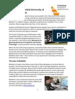 504 32 Bielefeld Uni of Applied Sciences Description Mechanicalengineering