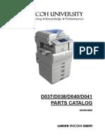 Manual de Partes Aficio Color MPC2030-2050-2550