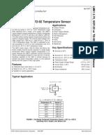 LM61 Sensor Temperatura