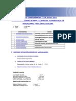 Informe Diario Onemi Magallanes 27.05.2014
