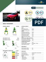 Mazda 3 EuroNCAP