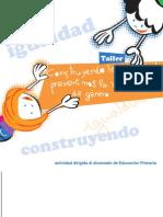 CONSTRUYENDO LA IGUALDAD