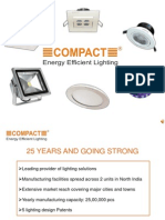 Introduced New Launched Lighting Products by Compact Lighting Manufacturers
