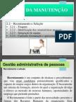Gestão Da Manutenção_aula 2.2_Recrutamento e Seleção