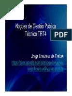 Slides Gestão Pública - Jorge TRT