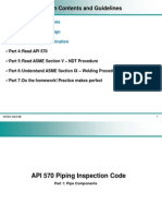 API 570 Part 1 - Pipe Components