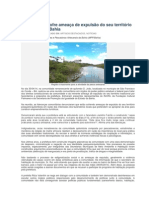 Comunidade Sofre Ameaça de Expulsão Do Seu Território Tradicional Na Bahia