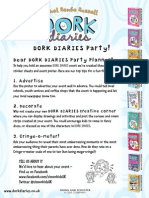 Dork Diaries Activity Pack