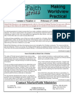 Worldview Made Practical - Issue 3-4