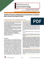 Vitamin D Improves IBD