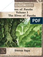 Elves of Faerun Volume I