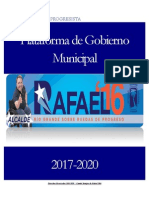 Plataforma de Gobierno2016