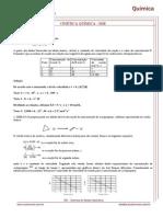 Exercícios Resolvidos -Cinética Química