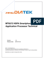 MT6572 HSPA Smartphone Application Processor 1.0