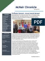 McNair Spr 2014 Chronicle
