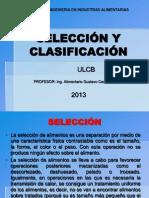 Clase 15 Selección y Clasificación