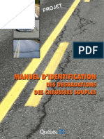 Manuel Des Degradations Des Chaussées Souples (1)
