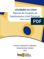 Manual de Creacion de Evaluaciones en Linea