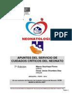 Apuntes ServicioCuidadosCríticosNeonato Arial 7 Ed Abril 2014 OK