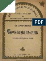 Cronica Germana a Lui Stefan Cel Mare