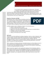 MIT Careers Office ♦ 12-170 ♦ (617) 253-4733 ♦ Http://Web.mit.Edu/Career/Www/