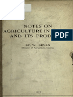 eBook - Agriculture - NOTES on AGRICULTURE in CYPRUS and ITS PRODUCTS 1919 Notesonagricultu00bevarich
