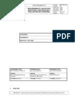 007 REH PR 001 Requerimiento,Seleccion,Induccion y Capacitacion
