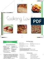 Low-Fat Cookbook