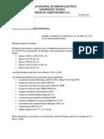 Informe de Instalacion de Pararrayos