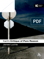 Commentary To Kants Critique. A Readers Guide