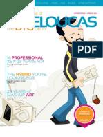 Mike Loucas PDF Magazine Layout Resume
