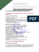 Programa Provas-processo Seletivo Ufu 2014-1