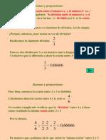 Razones y Proporciones 7básico
