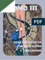 Reglamentos de Planificacion y Urbanismo