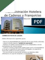 Administración Hotelera de Cadenas y Franquicias