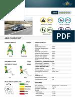 Peugeot 508 EuroNCAP