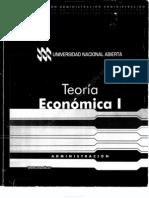 641 - Teoría Económica I