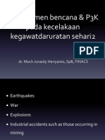 23.Managemen Bencana & P3K