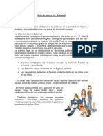 Guía de Apoyo Nº1 Sexto PUBERTAD
