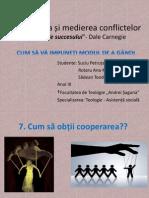 Negocierea Și Medierea Conflictelor