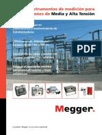 Catalogo Megger Media y Alta Tension