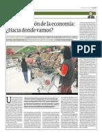 Desaceleración de La Economía_Hugo Perea_Gestión 27-05-2014