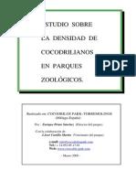 Informe Sobre Densidad Cocodrilos PDF