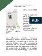 EL PENSAMIENTO DE BOBBIO EN LA CULTURA IBEROAMERICANA.doc