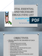Vital Essential and Necessary Drugs (Ven) Finish
